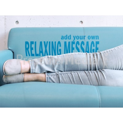 Couch Relax Presentation clipart
