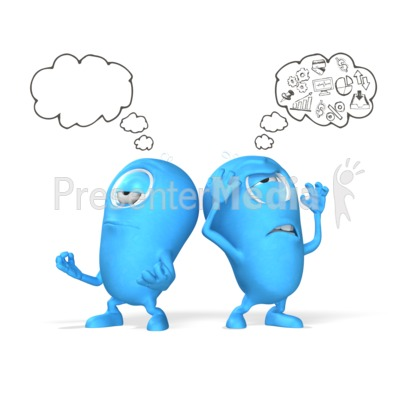 Clear Mind Presentation clipart