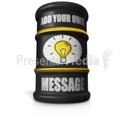 Barrel Custom Presentation clipart