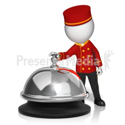 Call Bell Bellhop Ring Presentation clipart