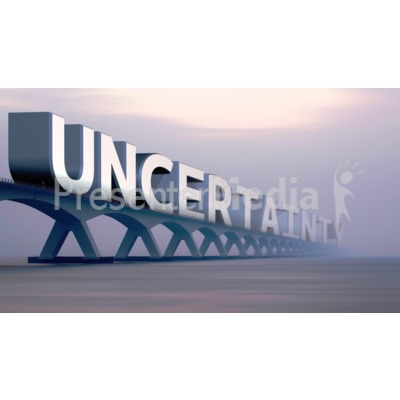 Bridge Of Uncertainty Presentation clipart