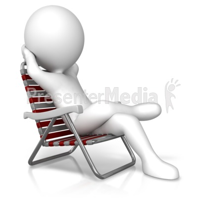 Relaxation In A Chair Presentation Clipart Great For Presentations Www Presentermedia