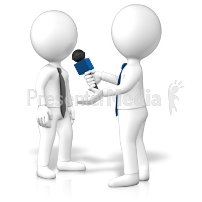 Business Interview Person Presentation clipart