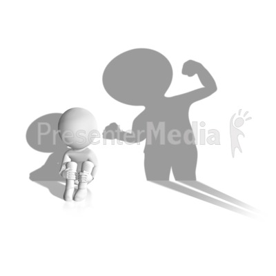 Child Abuse Shadow Presentation clipart
