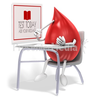 Blood Test Presentation clipart