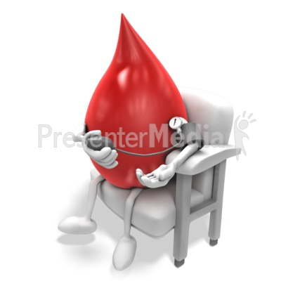 Blood Taking Pressure Presentation clipart