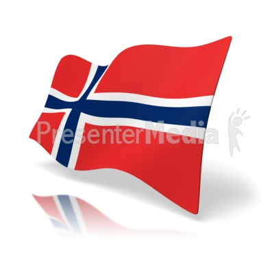 Flag Norway Presentation clipart