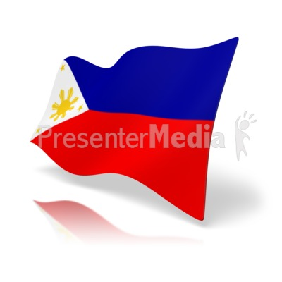 Flag Philippines Presentation clipart