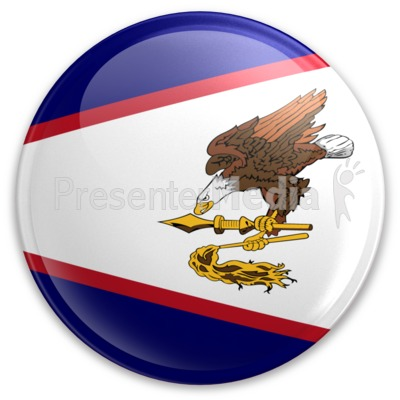 Badge of American Samoa Presentation clipart