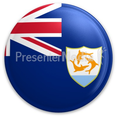 Badge of Anguilla Presentation clipart
