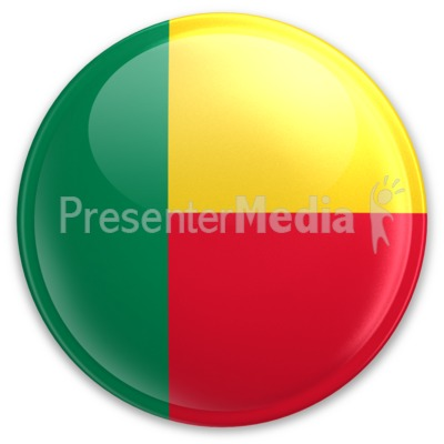 Badge of Benin Presentation clipart