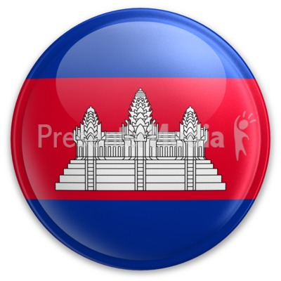 Badge of Cambodia Presentation clipart