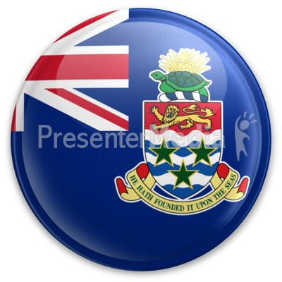 Badge of the Cayman Islands Presentation clipart