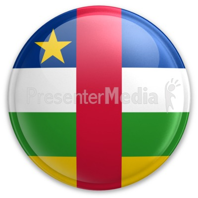 Badge of the Central African Republic Presentation clipart