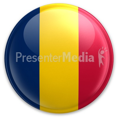 Badge of Chad Presentation clipart