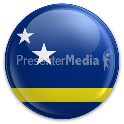 Badge of Curacao Presentation clipart