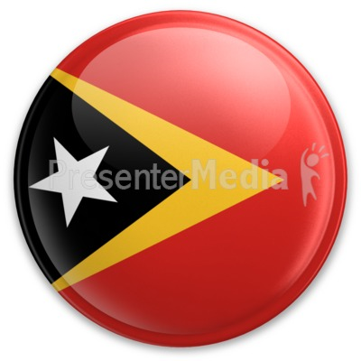 Badge of East Timor Presentation clipart