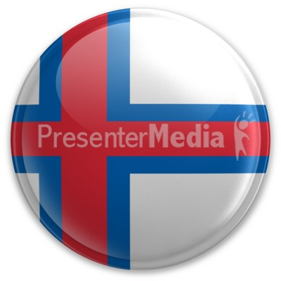 Badge of the Faroe Islands Presentation clipart