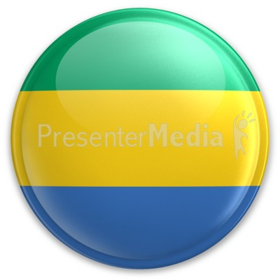 Badge of Gabon Presentation clipart