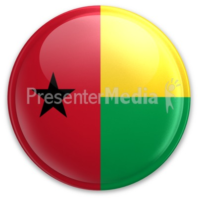 Badge of Guinea-Bissau Presentation clipart