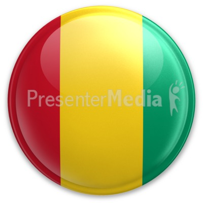 Badge of Guinea Presentation clipart