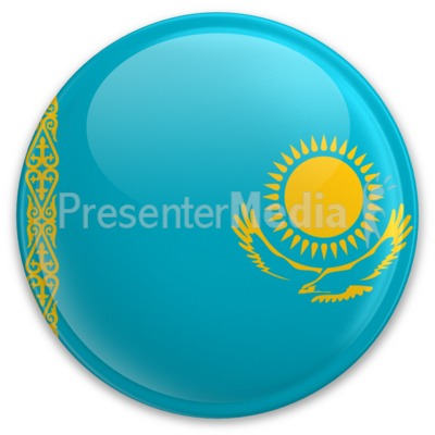 Badge of Kazakhstan Presentation clipart