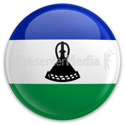 Badge of Lesotho Presentation clipart