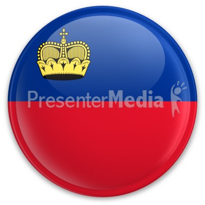 Badge of Liechtenstein Presentation clipart