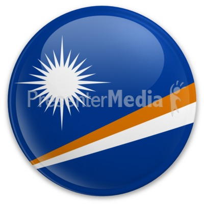 Badge of the Marshall Islands Presentation clipart