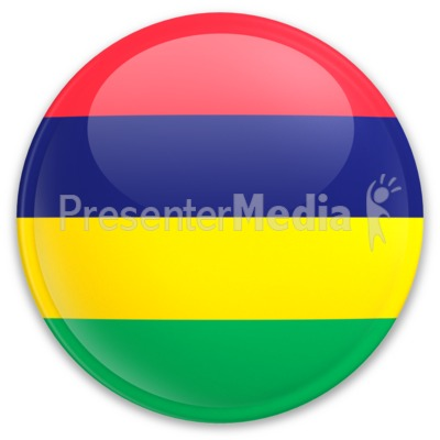 Badge of Mauritius Presentation clipart