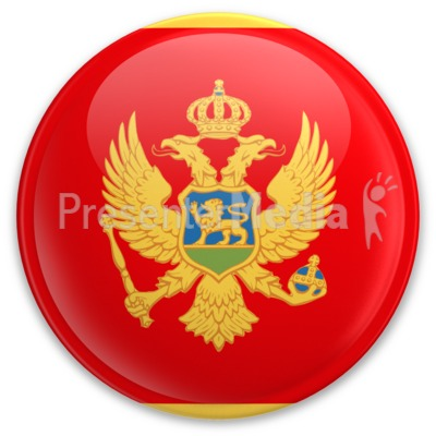 Badge of Montenegro Presentation clipart