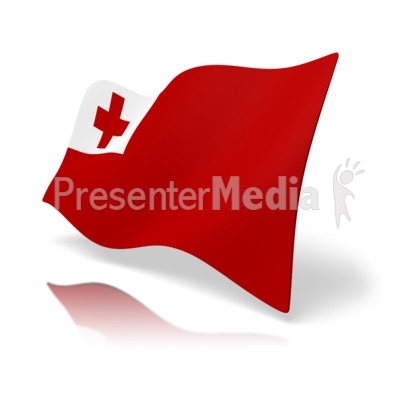 Flag Tonga Presentation clipart