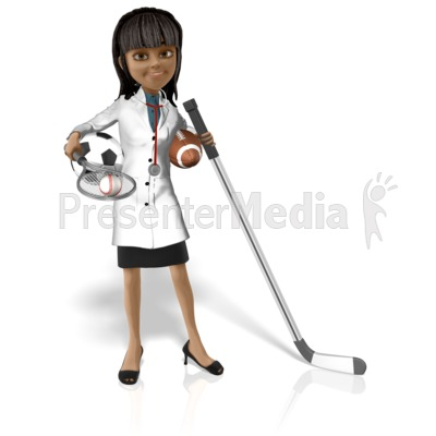 Doctor Kim Sports Presentation clipart