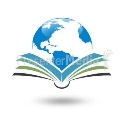 Reading Global Planet Presentation clipart