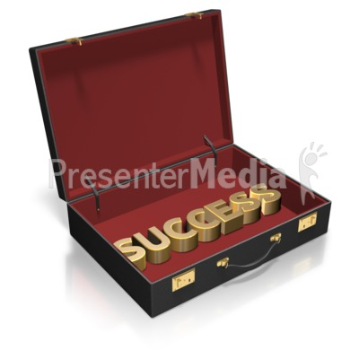 Briefcase Text Custom Presentation clipart