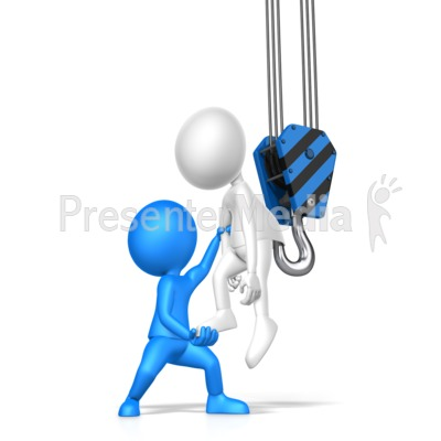Let Someone Of The Hook Presentation clipart
