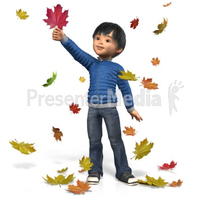 Autumn James Play Presentation clipart
