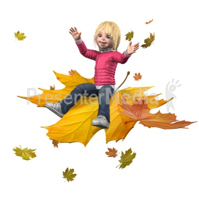 Sally Ride The Leaves Presentation clipart