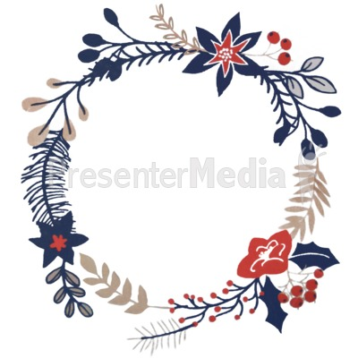 Christmas Branch Design Presentation clipart