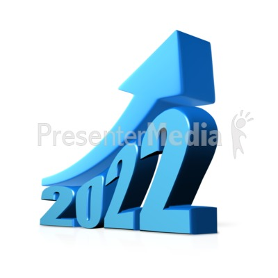 Custom Year Growth Presentation clipart