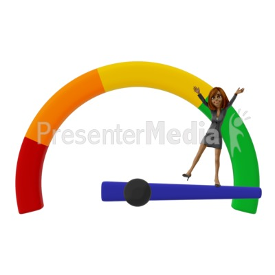 Success Gauge Talia Presentation clipart