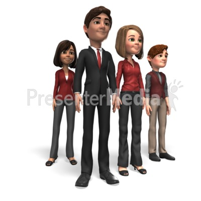 Business People Team Presentation clipart