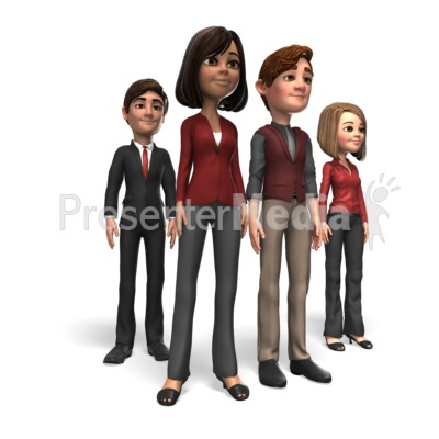 Business People Group Presentation clipart