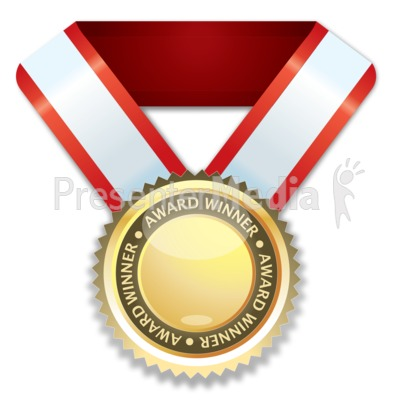 Award Winner Presentation clipart