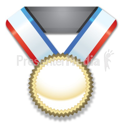 Gold Medal Award Presentation clipart