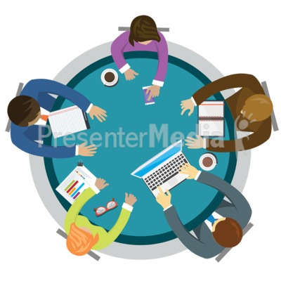 Table Of Business Presentation clipart