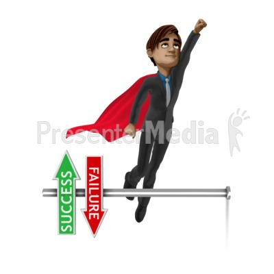 Brad Success Up Presentation clipart