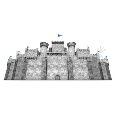 Fortress Wall Presentation clipart