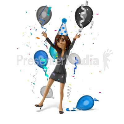 Talia Celebrate Party Presentation clipart