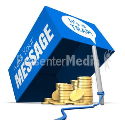 Money Trap Presentation clipart
